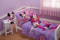 Disney Polyester Bedding Set(Lavender)
