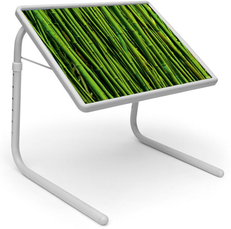 Shopper 52 Plastic Portable Laptop Table(Finish Color - Green)
