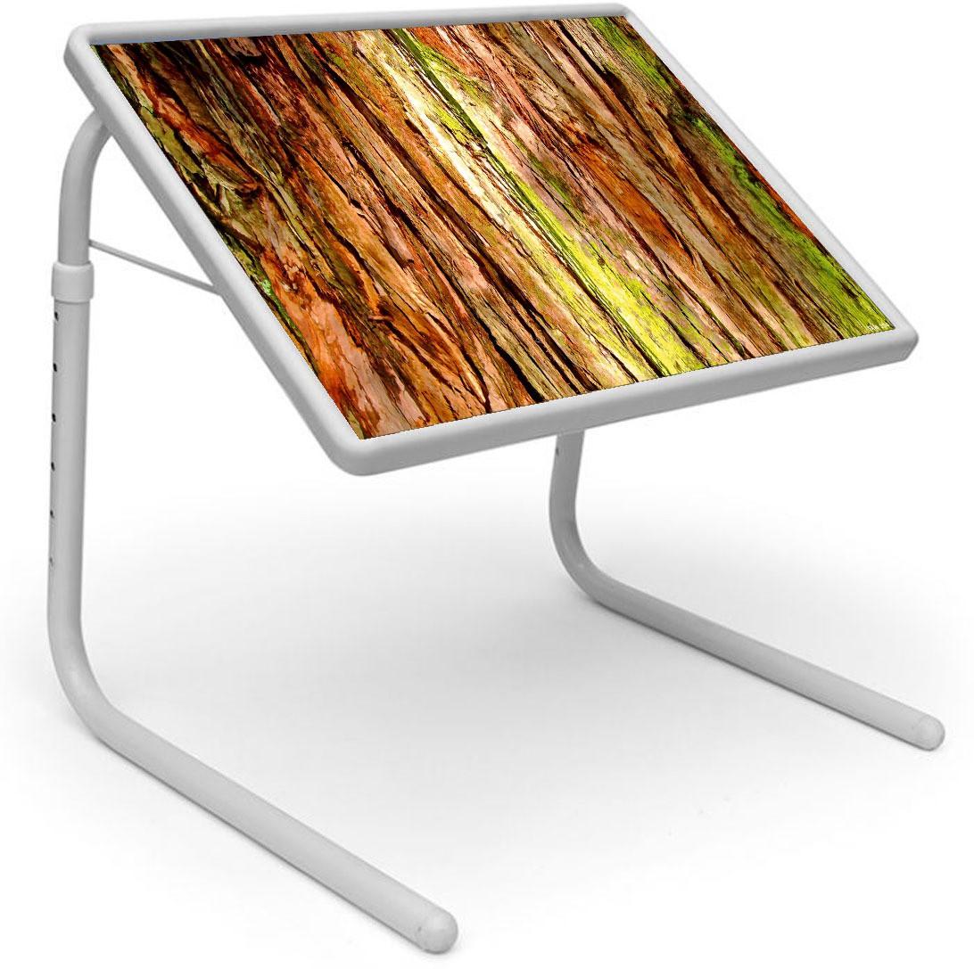 View Shopper 52 Plastic Portable Laptop Table(Finish Color - Brown) Furniture (Shopper52)