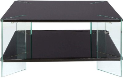 Parin Glass Coffee Table(Finish Color - black)
