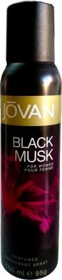 Jovan Black Musk Perfume Body Spray - For Women  (150 ml)