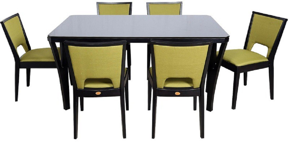 View Parin Solid Wood Dining Set(Finish Color - black) Furniture (Parin)
