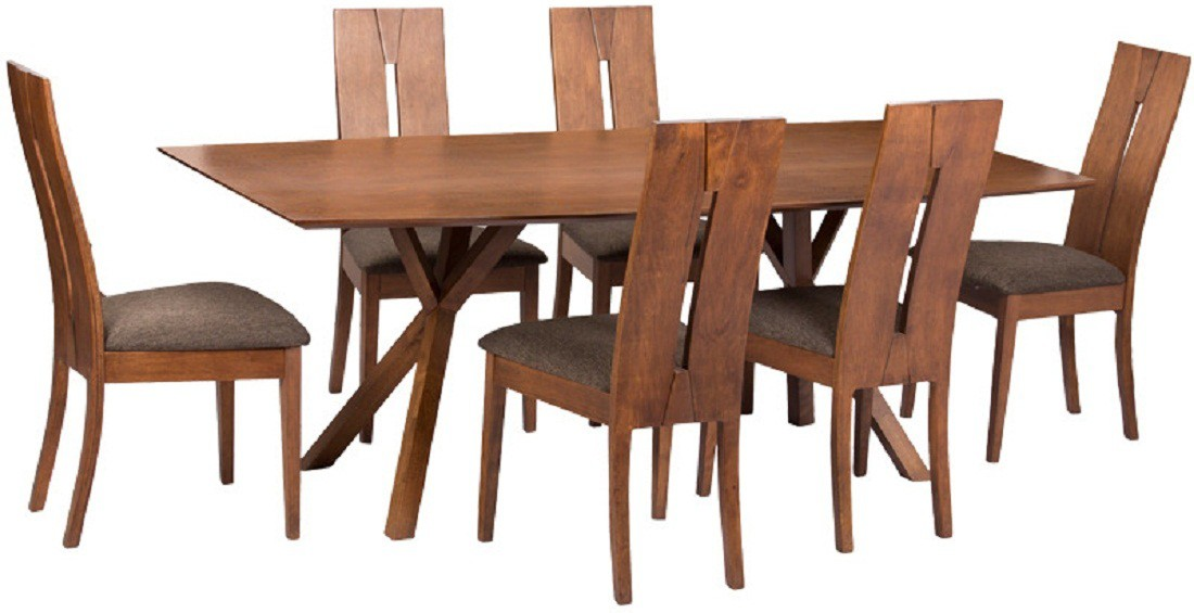 View Parin Solid Wood Dining Set(Finish Color - brown) Furniture (Parin)