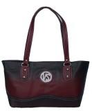 VS Creation Shoulder Bag (Brown, Black)