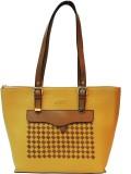 Mex Shoulder Bag (Yellow, Brown)