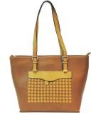 Mex Shoulder Bag (Brown, Yellow)