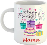 Dream web Happy Birthday Mama Ceramic Mug(350 ml)