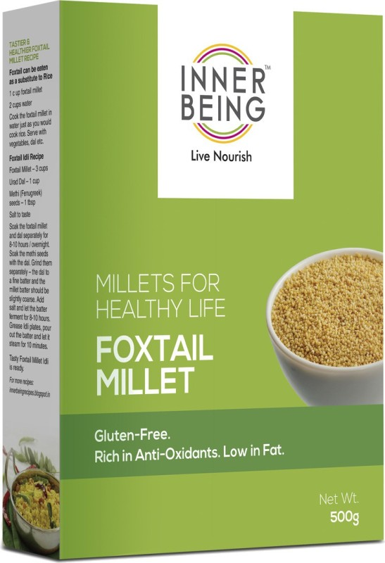 Inner Being Live Nourish Foxtail 500grm 500 g