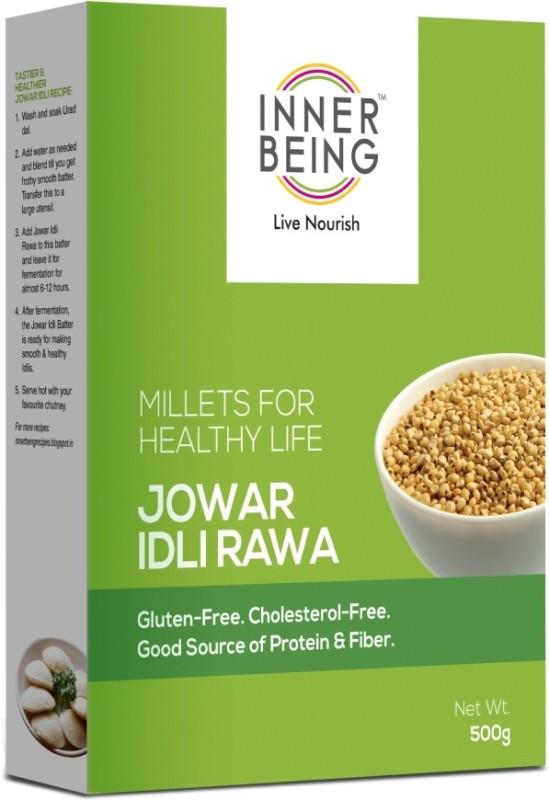 Inner Being Live Nourish Jowar Idli Rawa 500grm 500 g(Pack of 1)