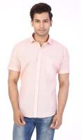 Be Online Formal Shirts (Men's) - Be Online Men's Solid Formal Orange Shirt
