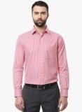 COBB Men's Checkered Formal Pink Shirt