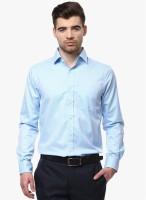 Cobb Formal Shirts (Men's) - COBB Men's Solid Formal Blue Shirt