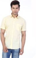 Be Online Formal Shirts (Men's) - Be Online Men's Solid Formal Yellow Shirt