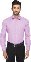 Go Green Textiles Formal Shirts (Men's) - go green textiles Men's Solid Formal White, Pink Shirt