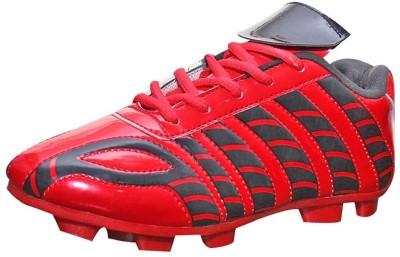 Port Dragnov Football Shoes(Red, Black)