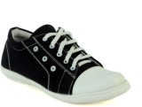 Shoe Island Trending Black Canvas Casual...