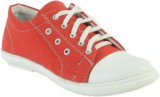 Shoe Island Trending Red Canvas Casual S...