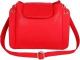 Lychee Bags Women Red PU Sling Bag