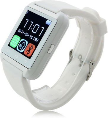 Wokit U8 White Smartwatch(White Strap Regular) at flipkart