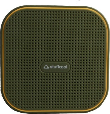 Stuffcool Ray Portable Bluetooth Mobile/Tablet Speaker(Millitary Green / Yellow, Mono Channel)