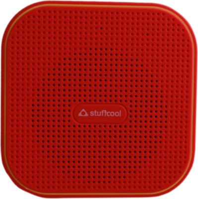 Stuffcool Portable Speaker Portable Bluetooth Mobile/Tablet Speaker(Red / Yellow, Mono Channel)