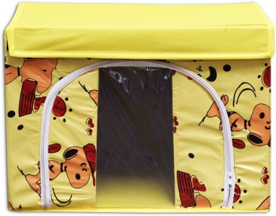 Achintya STBX-YellowCart Storage Box(Multicolor)