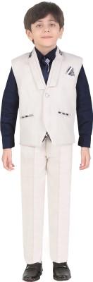 Jeet Indo Western Self Design Boys Suit