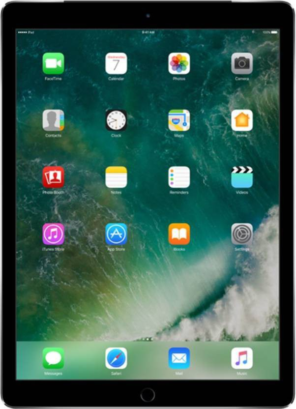 View Apple iPad Pro 128 GB 9.7 inch with Wi-Fi Only(Space Grey) Tablet Note Price Online(Apple)