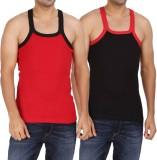 WellFitLook Men's Vest (Pack of 2)