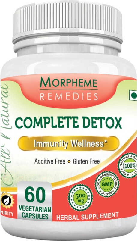 Morpheme Remedies Complete Detox 500 mg Multi Vitamin(60 No)