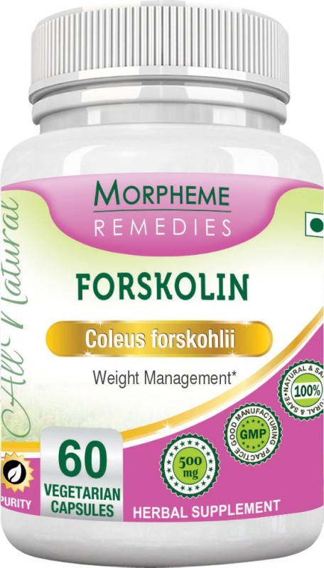 Morpheme Remedies Forskolin 500 mg Multi Vitamin(60 No)