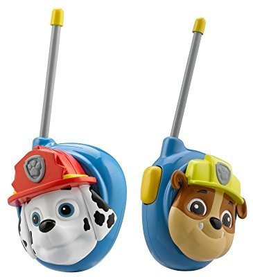 Paw Patrol Marshall and Rubble Character Walkie Talkies PW-202MA.EX Walkie Talkie(Multicolor)