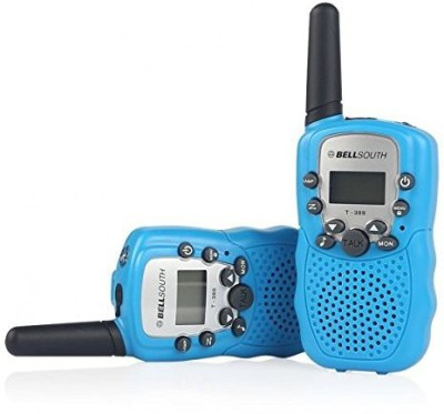 BellSouth T388 T-388 3-5KM 22 FRS and GMRS UHF Radio for Child Walkie-Talkie T388 Pink Walkie Talkie(Pink)
