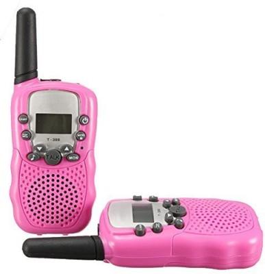 BellSouth T388 Nologo T-388 Walkie Talkie Automatic Battery Save LCD T388 Pink nologo Walkie Talkie(Pink)