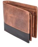 Bull Kraft Men Brown Genuine Leather Wal...