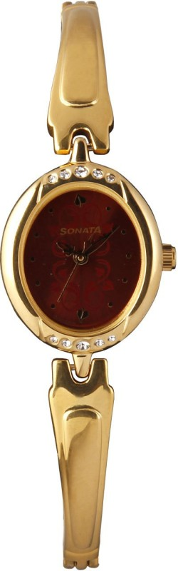 Sonata 8118YM05 Analog Watch For Women