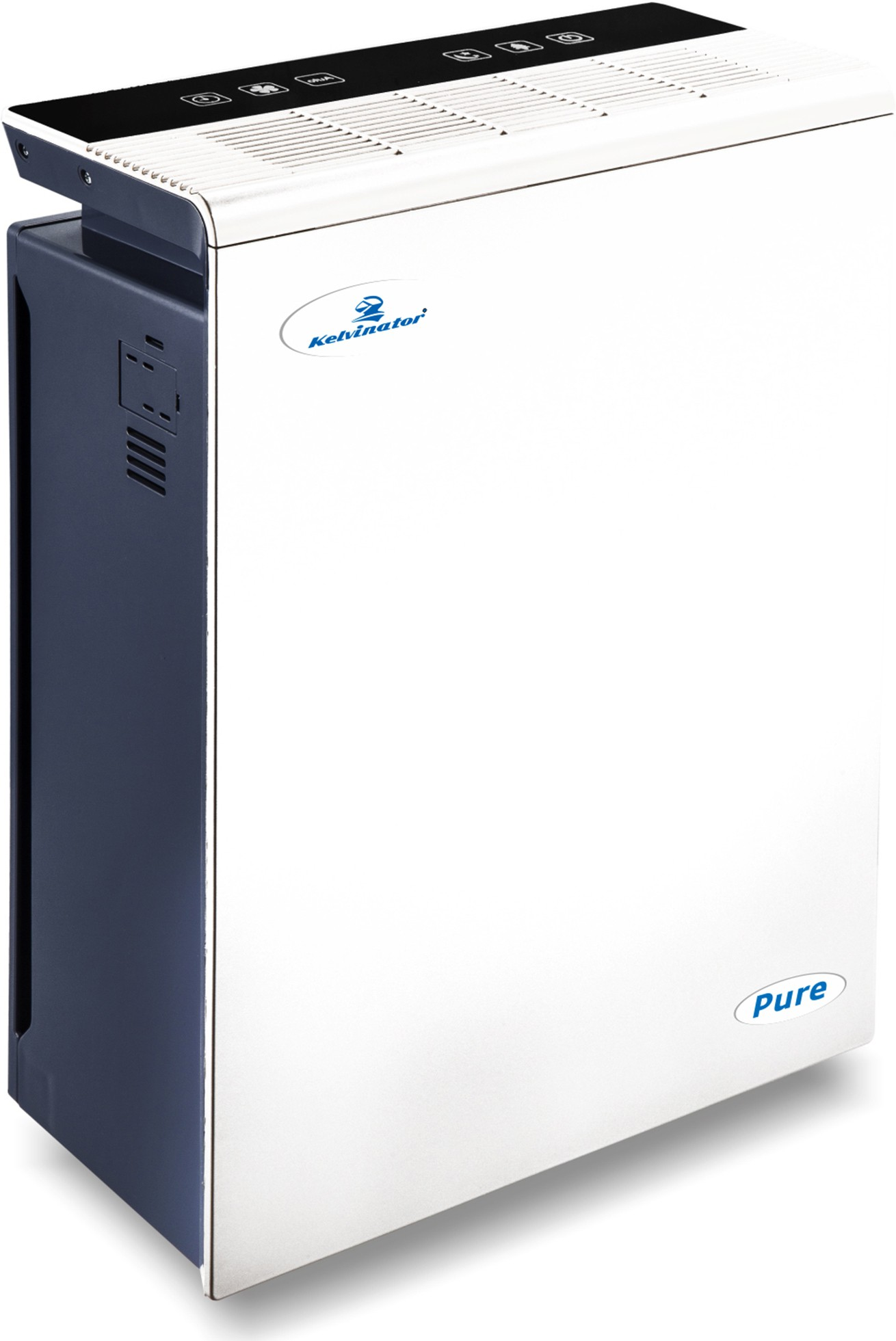 View Kelvinator Kelvinator Pure Air Purifier Portable Room Air Purifier(White) Home Appliances Price Online(Kelvinator)