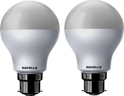 Havells 7 W Standard B22 LED Bulb(White, Pack of 2)