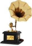 Brothers Creation Brass Gramophone (No)