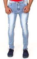 Villain Jeans (Men's) - VILLAIN Skinny Men's Light Blue Jeans