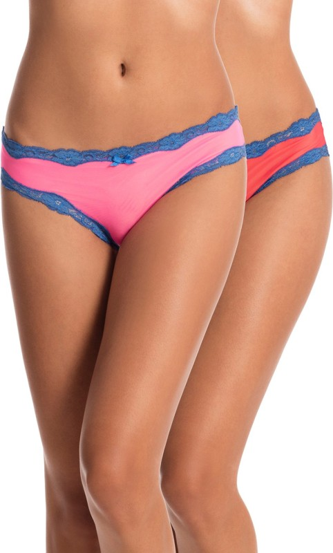PrettySecrets Women's Bikini Multicolor Panty(Pack of 2)