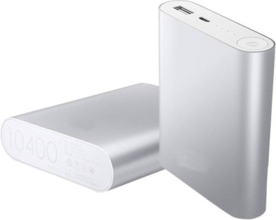 HBNS NK_104 fast charger 10400 mAh Power Bank(Silver, Lithium-ion)