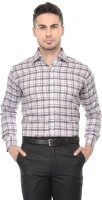Pure By Vicbono Formal Shirts (Men's) - Pure By Vicbono Men's Checkered Formal Multicolor Shirt