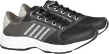 Sports 11 Running Shoes (Black, Grey)