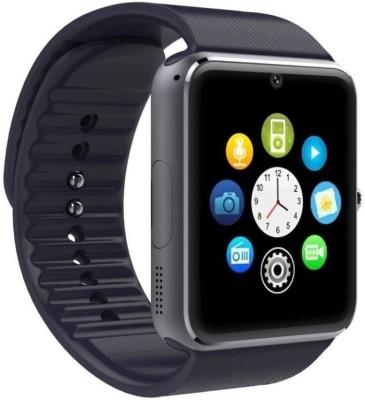 CELESTECH with SIM card, 32GB memory card slot, Bluetooth and Fitness Tracker Black Smartwatch(Black Strap Regular)