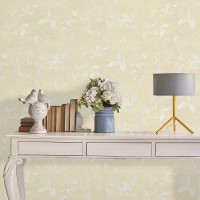 Wallpaper 4 Less Floral & Botanical Wallpaper(1000 cm X 53 cm)