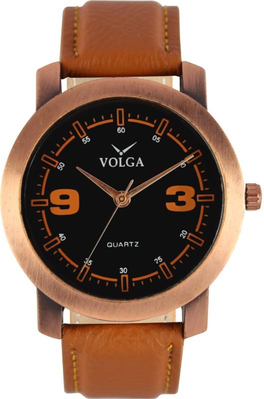 VOLGA latest Fancy Designer Swapping VOLGA0021 Sweep Second Analo
