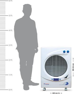 Bajaj Platini PX 93 DC DLX Desert Air Cooler(White, 48 Litres)