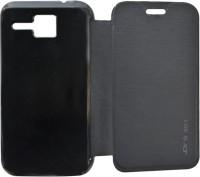 COVERNEW Flip Cover for Micromax Bolt S301(Black, Flip Cover)
