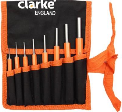 Clarke Clarke Hex Pin Punch Set of 8pcs CLK-HPP-8 Paring Chisel(10 mm Blade)